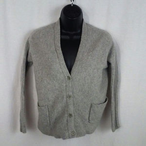 BCBG Max Azria womens sweater XS Gray Wool cashmer